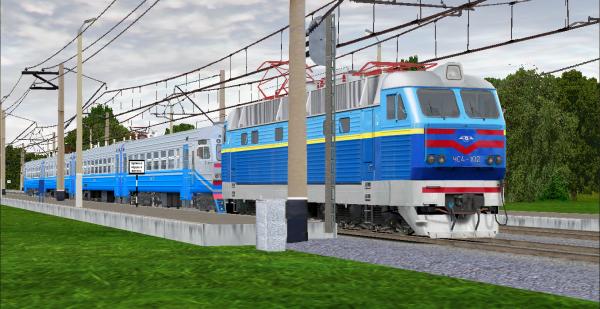ЧС4-102 + ЭР9М-527