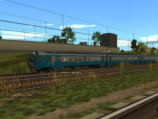 Скриншоты из игры Trainz Simulator