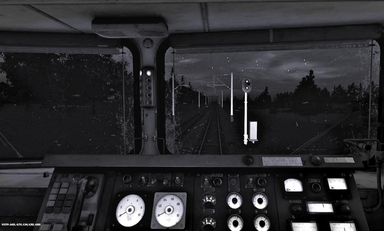 Ночные будни Trainz-MP