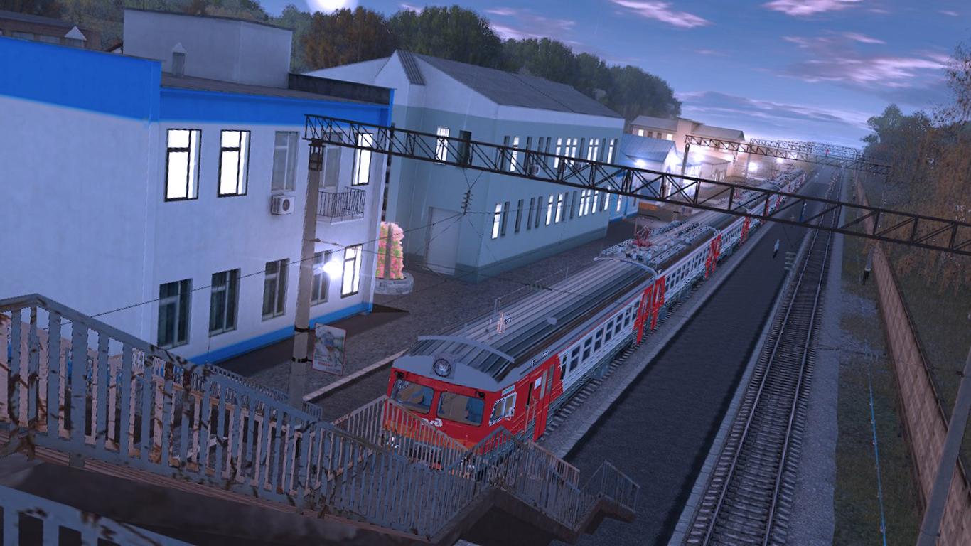 6724 Гурьевка-Плехановская. Станция:Академическая