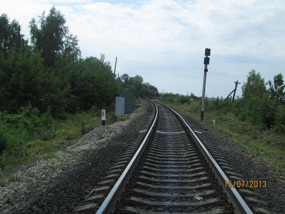 Входной светофор ст.Алатырь