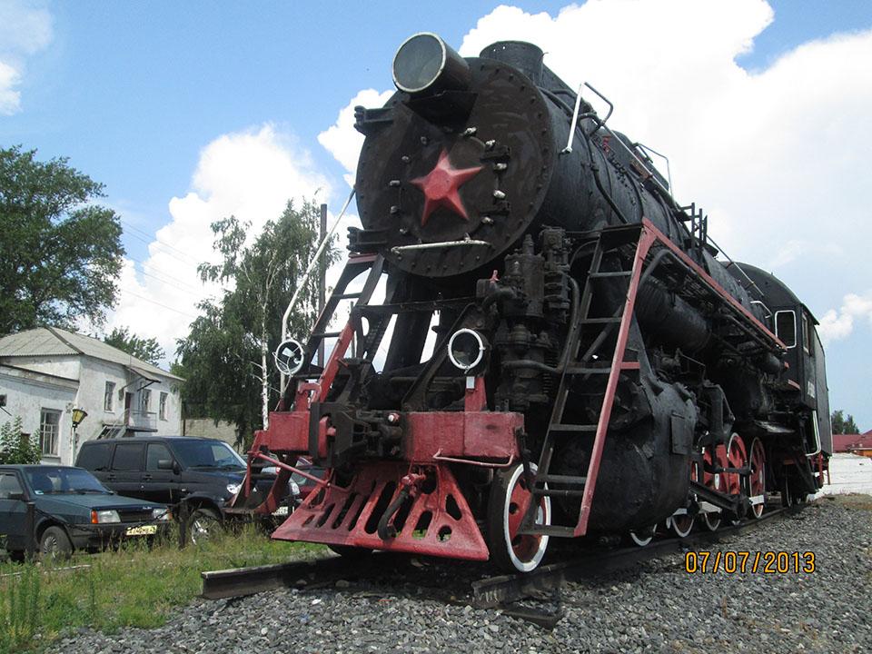 Паровоз л-3369