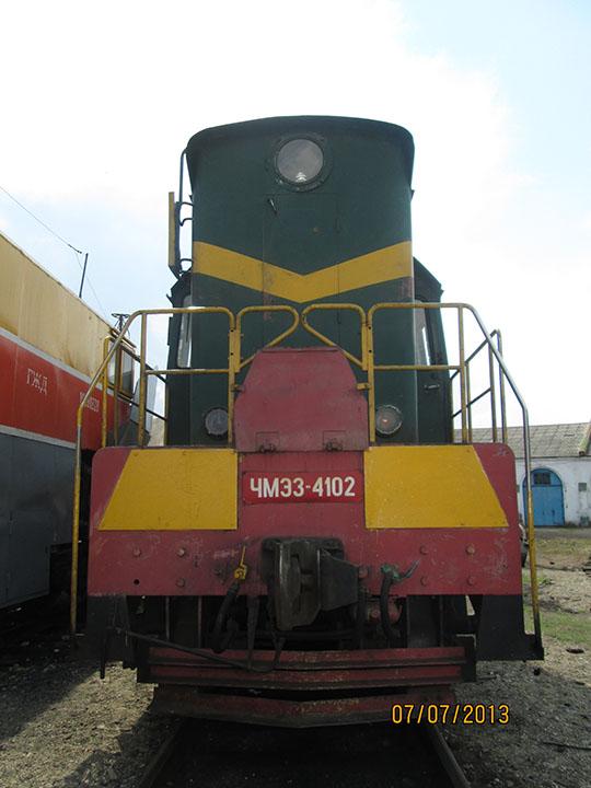 ЧМЭ3-4102 в депо ст.Алатырь
