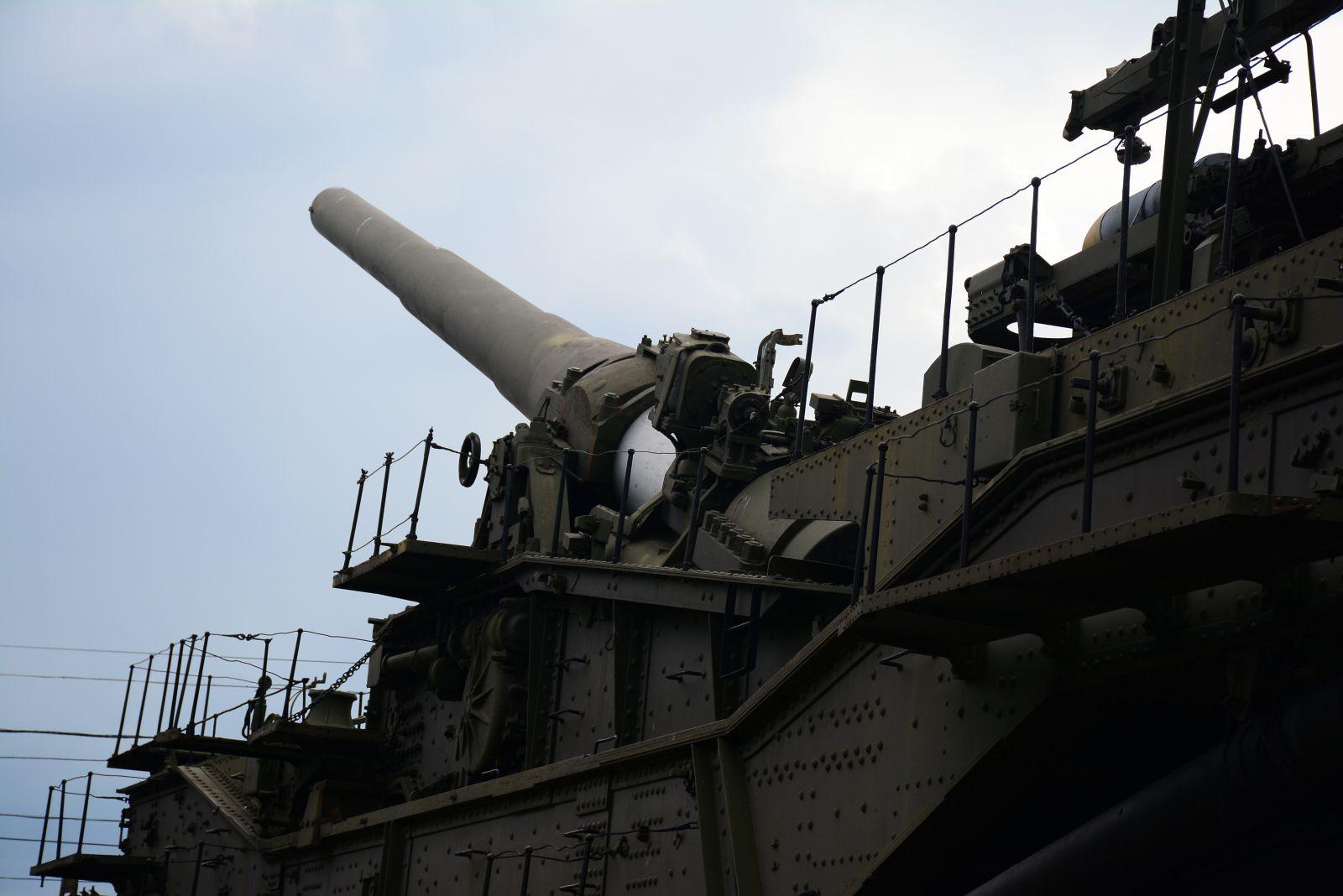 305 мм морская железнодорожная артиллерийская установка-транспортёр ТМ-3-12 (СССР)