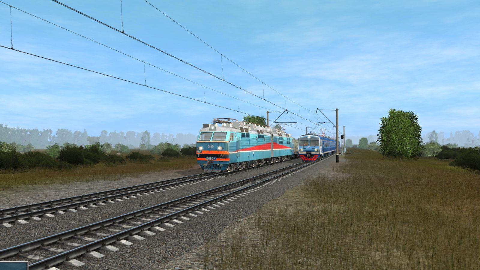 ВЛ80ТК и ЭД9м