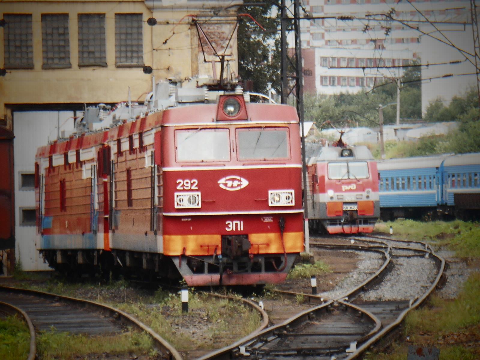 Электровоз ЭП1М | Депо (город Мурманск)
