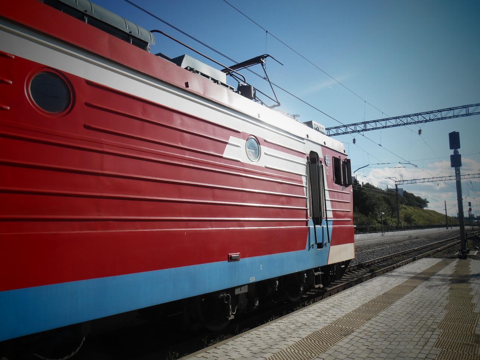 Голова пассажирского состава | Электровоз ЭП1М (город Мурманск)