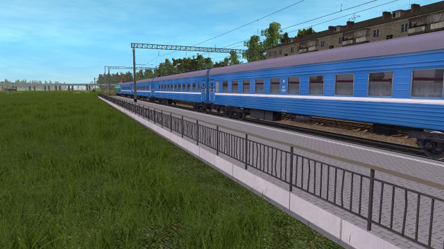 Колосово. Поезд №151.