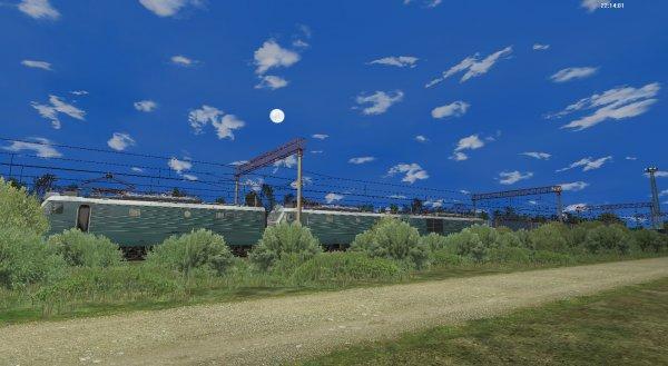 Скриншоты из игры RTrainSim