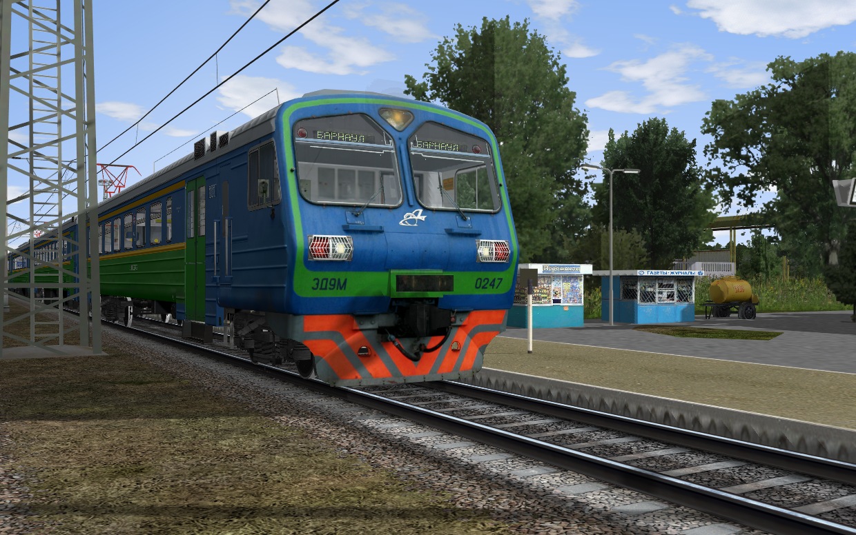 ЭД9М-0247 на ст. Ильичевск